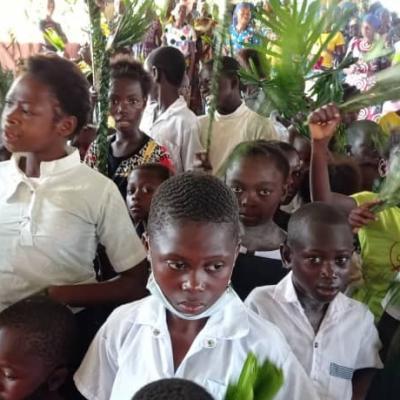Dimanche des Rameaux 2021 à Nduizi