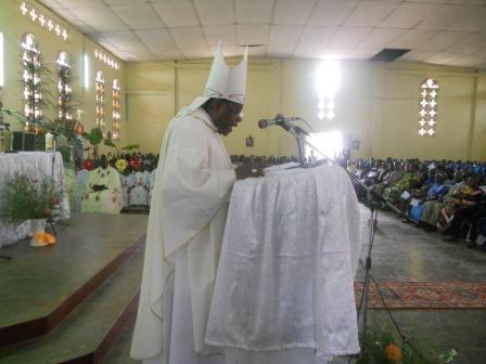 Homélie de Mgr Daniel Nlandu à Christ-Roi. Mbanza-Ngungu