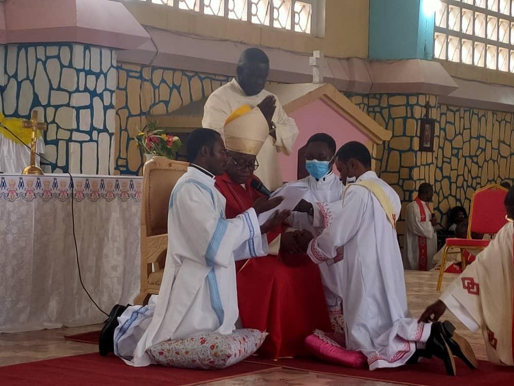 Ordinations 2020 à Matadi