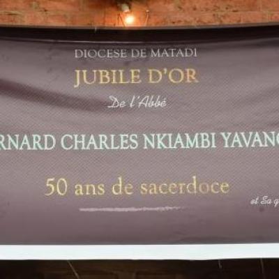 Jubilé Abbé Nkiambi 1