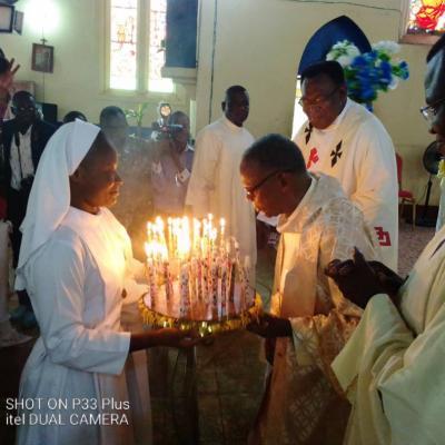 Jubilé d'or Abbé Nkiambi