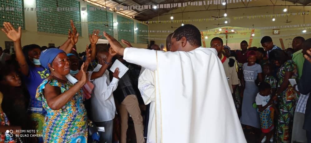 Messe du dimanche de la misericorde divine 16