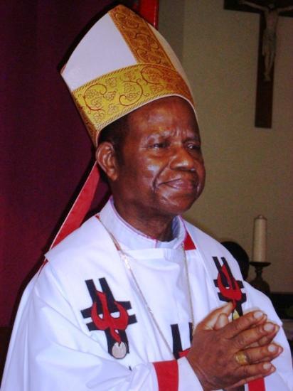 Son Excellence Mgr Gabriel KEMBO MAMPUTU, Evêque Emérite de Matadi
