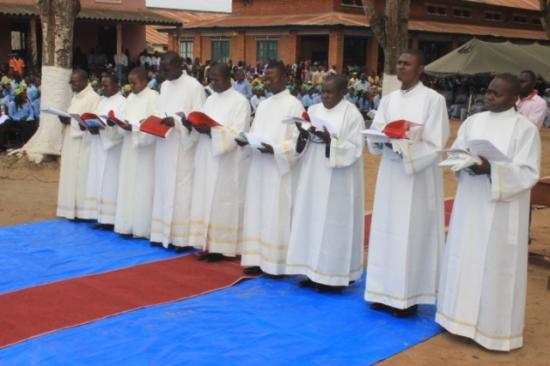 Ordinations sacerdotale et diaconales du 28 août 2016 à Mbanza-Ngungu