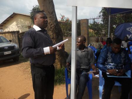 Ouverture du Centre de santé St Antoine à Loma (2)