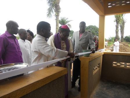 Ouverture du Centre de santé St Antoine à Loma (20)