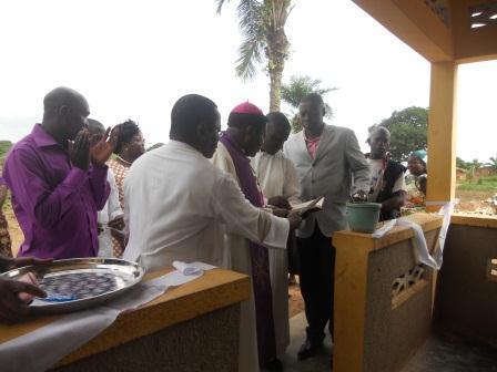 Ouverture du Centre de santé St Antoine à Loma (21)