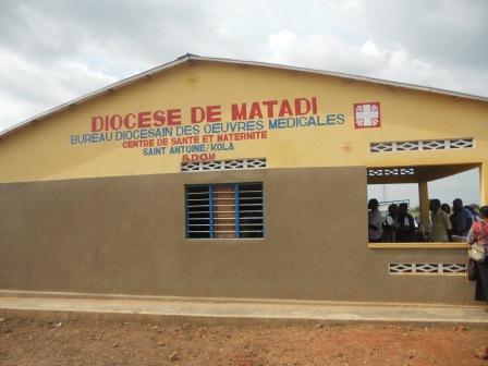 Ouverture du Centre de santé St Antoine à Loma (23)