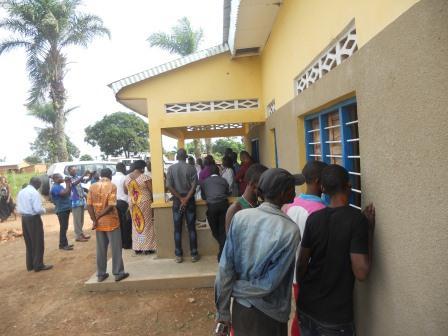 Ouverture du Centre de santé St Antoine à Loma (28)