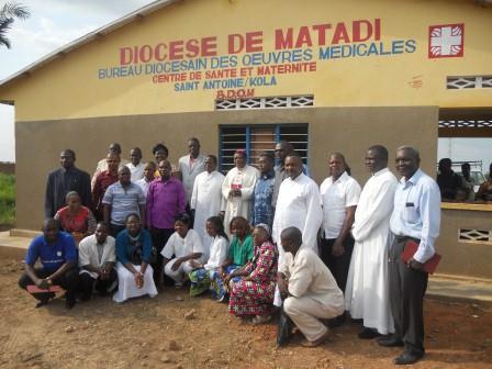 Ouverture du Centre de santé St Antoine à Loma (30)