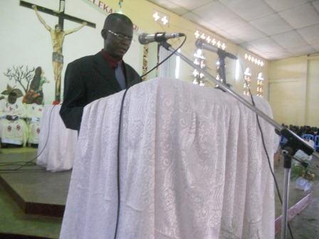 Président du Conseil paroissial de Christ-Roi. Mbanza-Ngungu