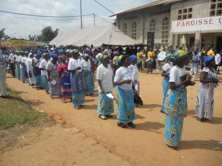 Visite pastorale de Mgr Daniel Nlandu à Christ-Roi (121)