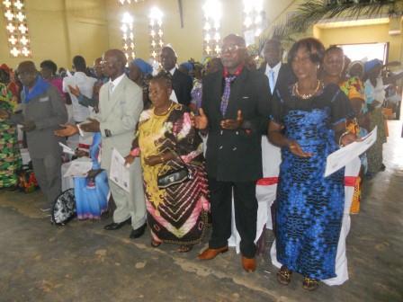Visite pastorale de Mgr Daniel Nlandu à Christ-Roi (40)
