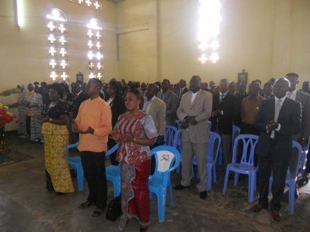 Visite pastorale de Mgr Daniel Nlandu à Christ-Roi (42)