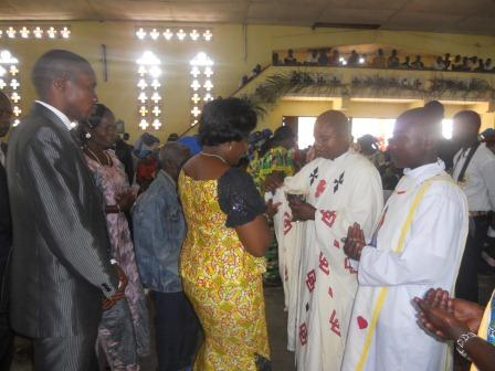 Visite pastorale de Mgr Daniel Nlandu à Christ-Roi (65)