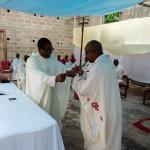 Intronisation curé doyen Matadi