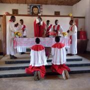 Visite canonique à Kibula 2014
